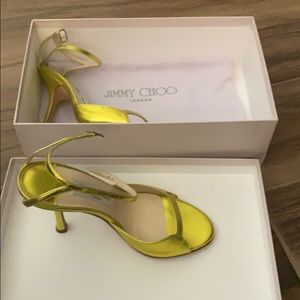 Bright yellow Jimmy Choo's Size 36